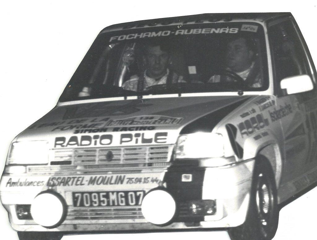 Partenaire du rallymane Jean-Marc AGIER