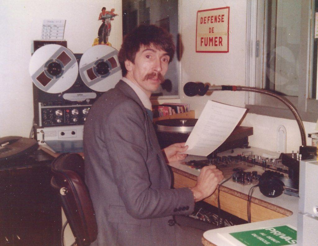 1er studio de Radio Pile situé Boulevard de la Glacière ancien Hopital à PRIVAS.