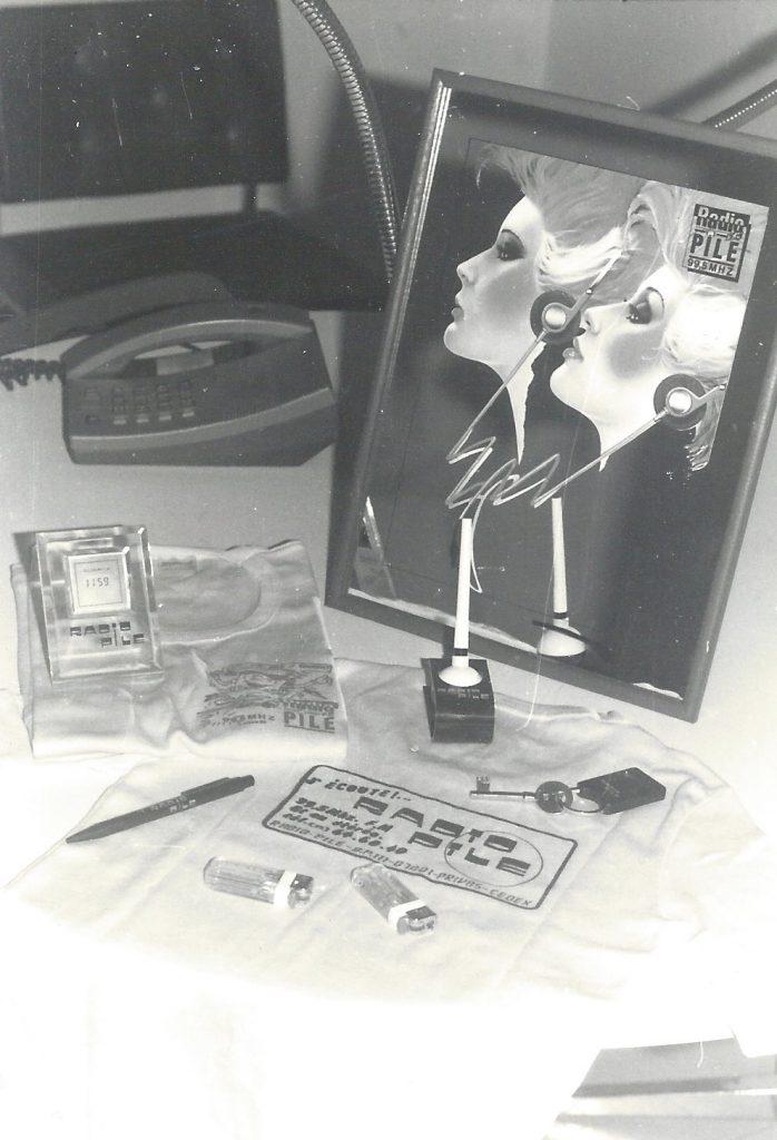 Radio PILE objets publicitaires