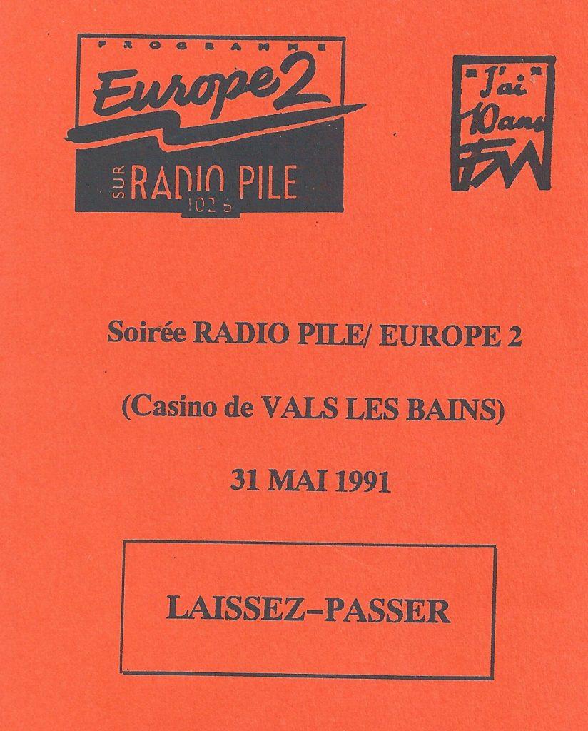 Radio Pile anniversaire des 10 ans