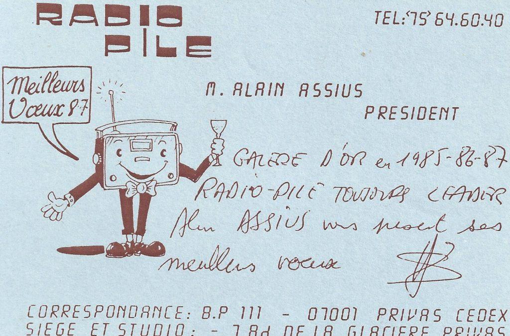 Radio PILE, les Voeux du President.
