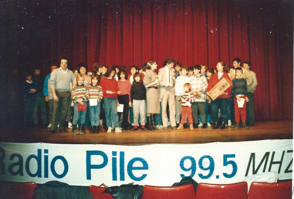 Soirée remise de prix concours Radio PILE, au théâtre de PRIVAS