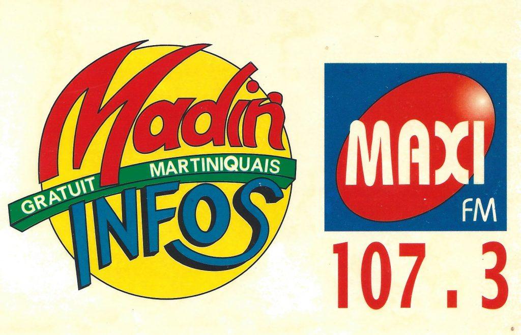 Autocollant Maxi FM